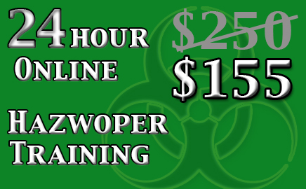 24 Hour Hazwoper Online Training