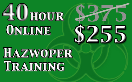 40 Hour Hazwoper Online Training