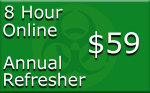 Enroll in the OSHA 8 Hour Hazwoper Refresher Online Training Course from Risk Management Services