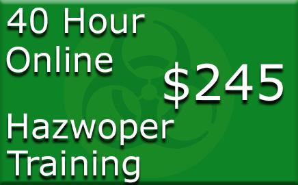 40 Hour Hazwoper Online Training