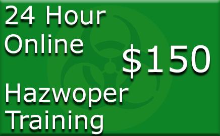 24 Hour Hazwoper Online Training